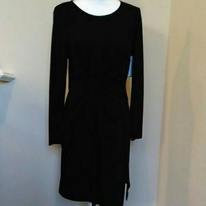NWT- Karen Kane Black fitted dress